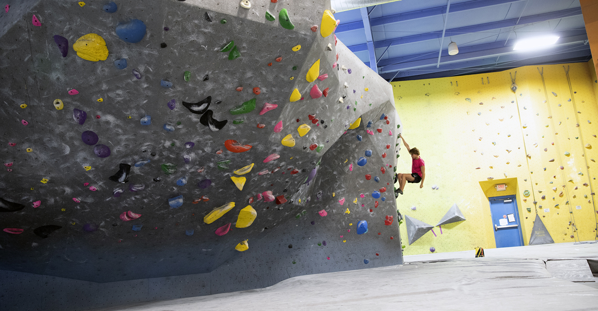 Climbing sessions open Oct 5