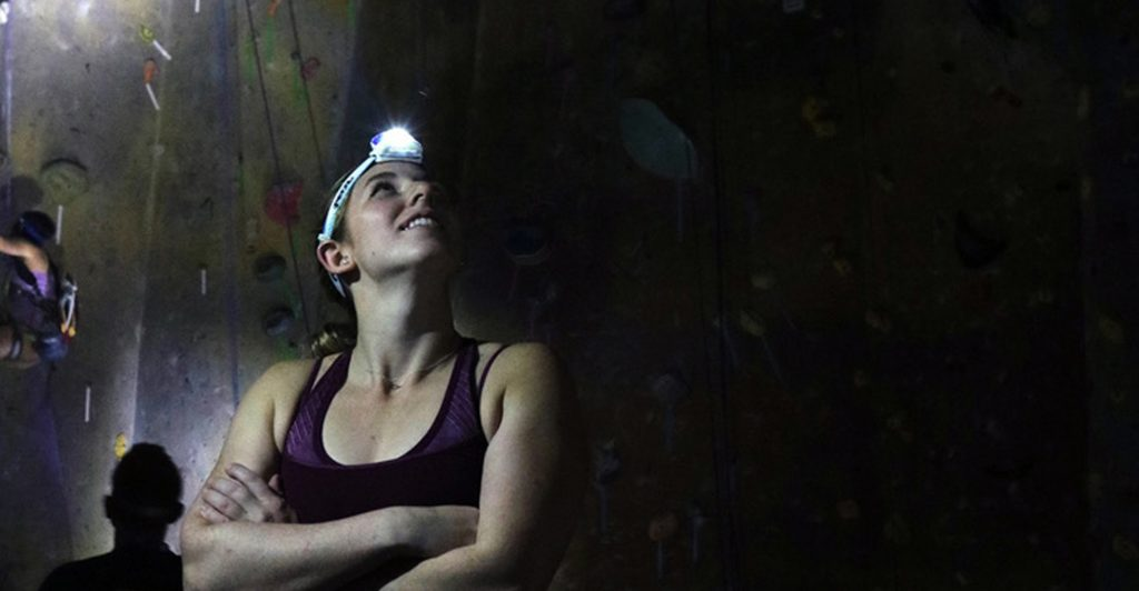 Lights Out Headlamp Climb